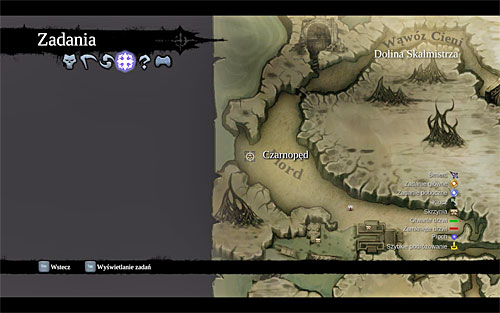 You can unlock this quest during a meeting with Blackroot, who can be found in the western part of the [Fjord] in the Forge Lands (his exact location is pinpointed on the above map) - Unlocking the quest - Sticks and Stones - Darksiders II - Game Guide and Walkthrough