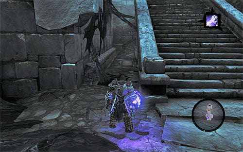 Before heading for the entrance, I suggest you dive underwater first for a Boatman Coin - Shattered Forge - Additional Locations - Darksiders II - Game Guide and Walkthrough