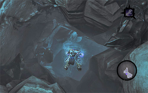 Again, you'll have to dive - Shattered Forge - Additional Locations - Darksiders II - Game Guide and Walkthrough