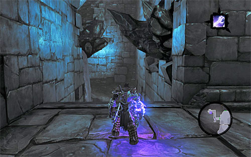 Don't go into the water this time, there are no treasures to find - Shattered Forge - Additional Locations - Darksiders II - Game Guide and Walkthrough