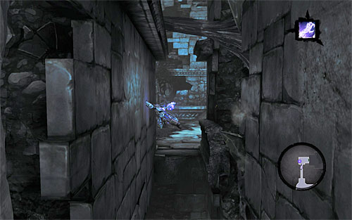 Go through the newly unlocked east hallway - Shattered Forge - Additional Locations - Darksiders II - Game Guide and Walkthrough