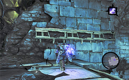 When they're gone, climb the ledge - Shattered Forge - Additional Locations - Darksiders II - Game Guide and Walkthrough