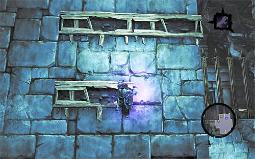 Be prepared to do some wall-running on the surrounding walls, and make sure to bounce off whenever you get close to a corner - Shattered Forge - Additional Locations - Darksiders II - Game Guide and Walkthrough
