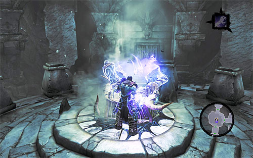 Open another door - they will take you back to the first hall of the forge - Shattered Forge - Additional Locations - Darksiders II - Game Guide and Walkthrough