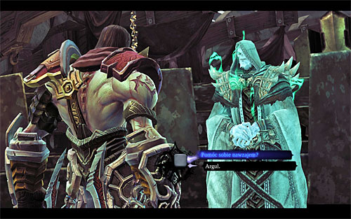 You can unlock this quest during a conversation with the Chancellor, who resides in the [Eternal Throne] in the Kingdom of the dead - Unlocking the quest - The Chancellor's Quarry - Darksiders II - Game Guide and Walkthrough