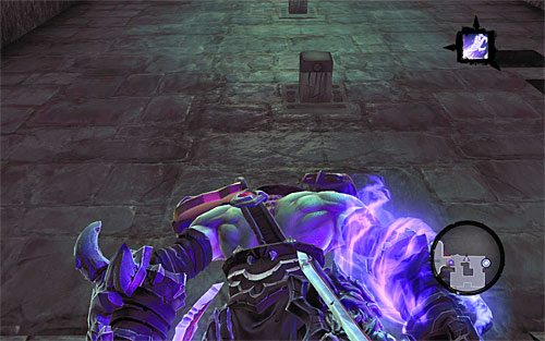 Jump down and head for the newly unlocked interactive pegs located on the west wall (the above screen) - Visit the Soul Arbiter's Maze - The Chancellor's Quarry - Darksiders II - Game Guide and Walkthrough