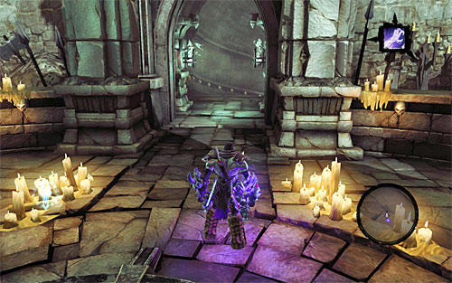 If instead of an arena you find yourself in front of a staircase, it means that you've reached the last area of the current level (the above screen) - How to explore the levels - The Chancellor's Quarry - Darksiders II - Game Guide and Walkthrough