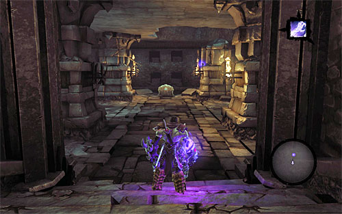 To reach the treasure room (the above screen), use the following portals - Level VI - Isolation - The Chancellor's Quarry - Darksiders II - Game Guide and Walkthrough