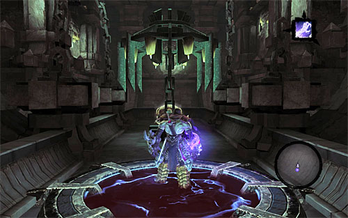 To reach the treasure room (the above screen), use the following portals - Level VIII - Inversion - The Chancellor's Quarry - Darksiders II - Game Guide and Walkthrough