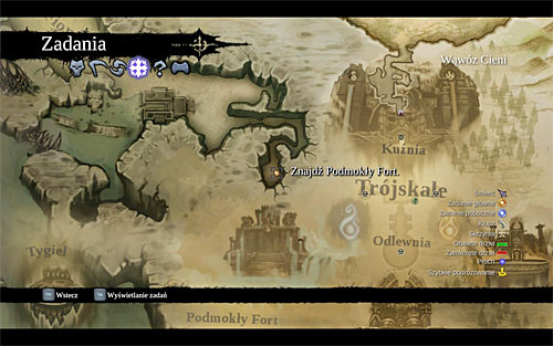 Before heading forth, I recommend opening the world map and taking a few moments to plan the journey - Find Drenchfort - The Tears of the Mountain - Darksiders II - Game Guide and Walkthrough
