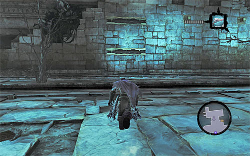 Go through a set of corridors, dealing with Stingers and Prowlers as you go - Restore the Tears of the Mountain (2) - The Tears of the Mountain - Darksiders II - Game Guide and Walkthrough