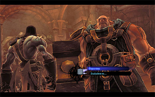 It's best to return to Karn only after exploring the whole of [The Cauldron] and interacting with the last mechanism (after defeating Gharn) - Shaman's Craft - Small quests - Darksiders II - Game Guide and Walkthrough