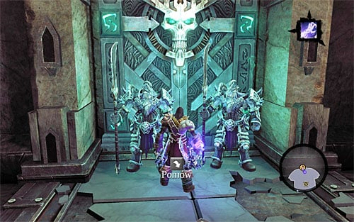 Approach the entrance of the throne room - Talk to the Lord of Bones - The Lord of Bones - Darksiders II - Game Guide and Walkthrough