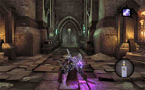 Keep going north - Find the entrance to the Gilded Arena - The Toll of Kings - Darksiders II - Game Guide and Walkthrough