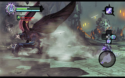 You'll be facing a mini-boss called a Scarab Hulk - Summon the Arena Champion (2) - The Toll of Kings - Darksiders II - Game Guide and Walkthrough