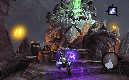 Keep hitting the Scarab until you empty his health bar - Summon the Arena Champion (2) - The Toll of Kings - Darksiders II - Game Guide and Walkthrough