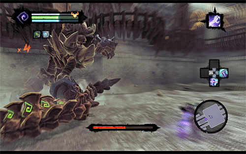 After he changes back to his larger form, you'll proceed to the THIRD STAGE of this battle - Boss 8 - Gnashor - The Toll of Kings - Darksiders II - Game Guide and Walkthrough