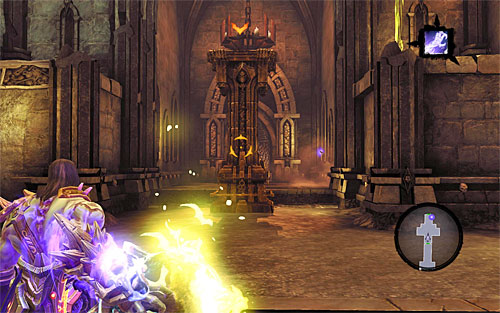 Go back to the upper balcony for a new shadowbomb - Resurrect Phariseer (1) - Phariseer - Darksiders II - Game Guide and Walkthrough