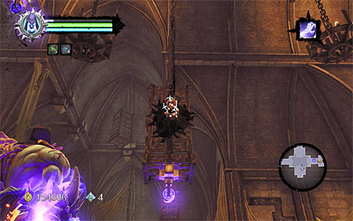 After a successful landing, look around for a chest with a Dungeon Map - Resurrect Phariseer (1) - Phariseer - Darksiders II - Game Guide and Walkthrough