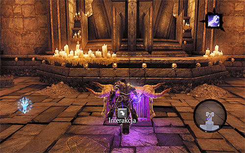 Go north to reach a chest with a Skeleton Key - Resurrect Phariseer (1) - Phariseer - Darksiders II - Game Guide and Walkthrough