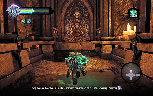 Head towards the lift shaft, which is where you've placed the pillar - Finishing the quest - Phariseer - Darksiders II - Game Guide and Walkthrough