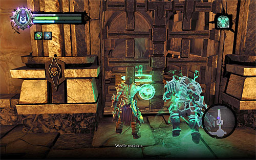 Approach the new summoning circle and use Interdiction to call the Dead Lord again - Finishing the quest - Phariseer - Darksiders II - Game Guide and Walkthrough