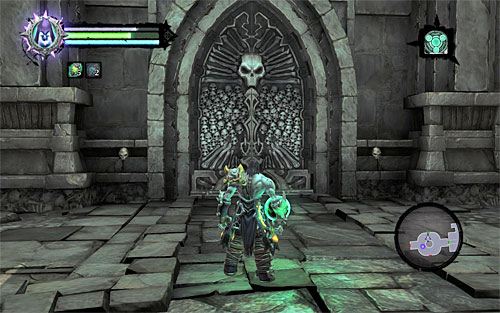 The Souls have to be obtained in a strict order, so for starters go through the newly unlocked west door (the above screen) - Find the first Soul - Judicator - Darksiders II - Game Guide and Walkthrough