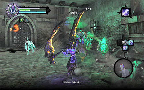 Inside you'll find a Lich which is going to summon Skeletons for assistance - Find the first Soul - Judicator - Darksiders II - Game Guide and Walkthrough