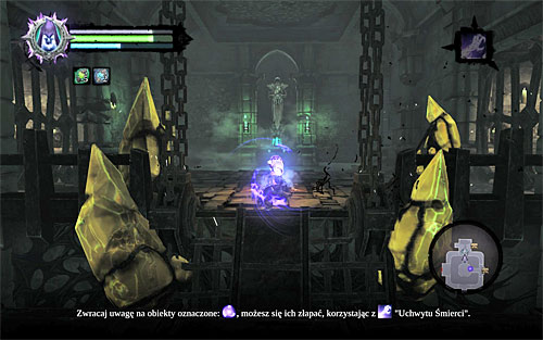 As you may have noticed, only one half of the drawbridge has been lifted - Find the first Soul - Judicator - Darksiders II - Game Guide and Walkthrough