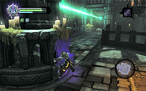 When it's done, rotate the statue - Find the first Soul - Judicator - Darksiders II - Game Guide and Walkthrough