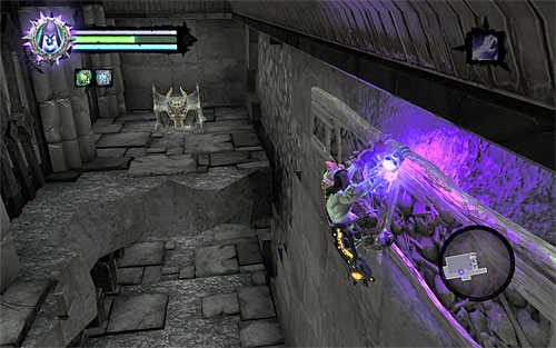 Using the interactive handhold has unlocked access to two well-hidden items - Find the second Soul (2) - Judicator - Darksiders II - Game Guide and Walkthrough