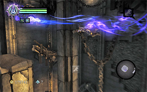 Use it again on the second handhold - Find the second Soul (2) - Judicator - Darksiders II - Game Guide and Walkthrough