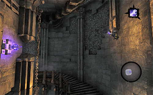 Be ready to catch the fourth handhold as soon as the character gets close to the new wall - Find the second Soul (2) - Judicator - Darksiders II - Game Guide and Walkthrough