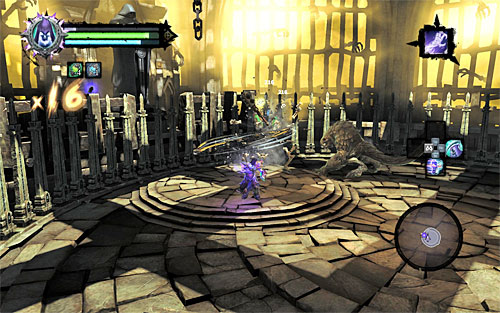 Traditionally, this will send a new swarm of monsters after you - Find the second Soul (2) - Judicator - Darksiders II - Game Guide and Walkthrough