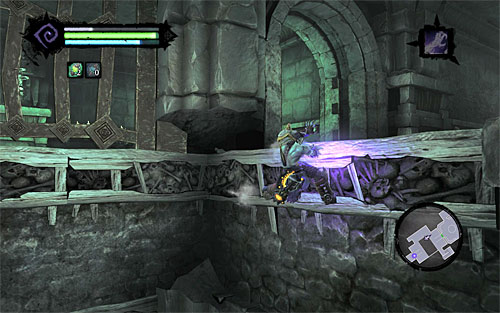 Go through the door leading to the northern (starting) section of the Judicar's Tomb - Finishing the quest - Judicator - Darksiders II - Game Guide and Walkthrough