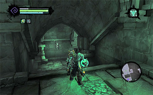 Turn left, stand in the summoning circle and use Interdiction to summon BOTH Dead Lords at the same time - Finishing the quest - Judicator - Darksiders II - Game Guide and Walkthrough