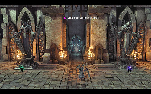 If you perform those actions correctly, the entrance to the of the dead should be unlocked - Go to The City of the Dead - The City of the Dead - Darksiders II - Game Guide and Walkthrough