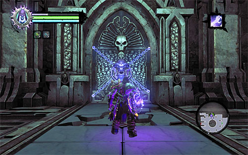 Equipped with the key - Explore the City of the Dead - eastern part - The City of the Dead - Darksiders II - Game Guide and Walkthrough