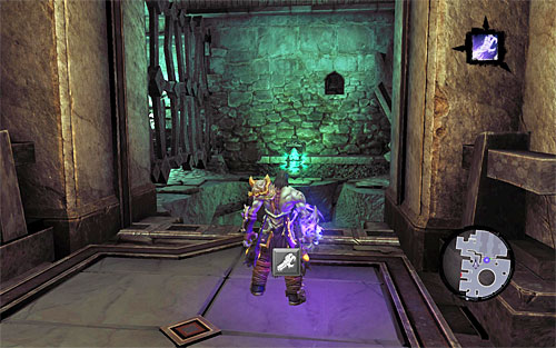 Terminate soul split and return to the central area of the city of the dead - Explore the City of the Dead - eastern part - The City of the Dead - Darksiders II - Game Guide and Walkthrough