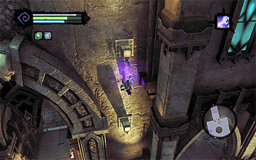 You must now return to the main room, i - Explore the City of the Dead - upper levels (2) - The City of the Dead - Darksiders II - Game Guide and Walkthrough