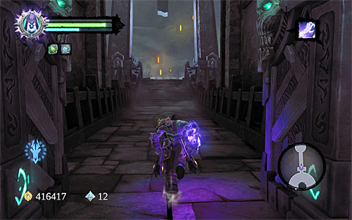 Start by collecting all of the items that the defeated monsters left - Meet up with The Soul - The City of the Dead - Darksiders II - Game Guide and Walkthrough