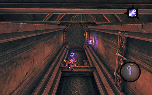 1 - Find Samael - eastern part of the Black Stone - The Lord of the Black Stone - Darksiders II - Game Guide and Walkthrough