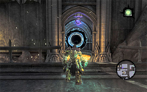 1 - Find Samael - western part of the Black Stone - The Lord of the Black Stone - Darksiders II - Game Guide and Walkthrough