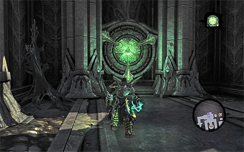 2 - Find Samael - western part of the Black Stone - The Lord of the Black Stone - Darksiders II - Game Guide and Walkthrough