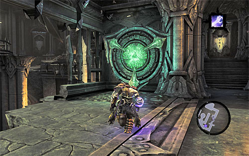 3 - Find Samael - western part of the Black Stone - The Lord of the Black Stone - Darksiders II - Game Guide and Walkthrough