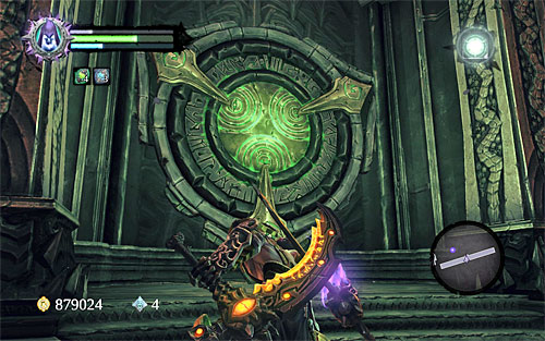 Kill the Legion Soldier you'll encounter there, and use the opportunity to examine a nearby chest - Find Samael - end - The Lord of the Black Stone - Darksiders II - Game Guide and Walkthrough
