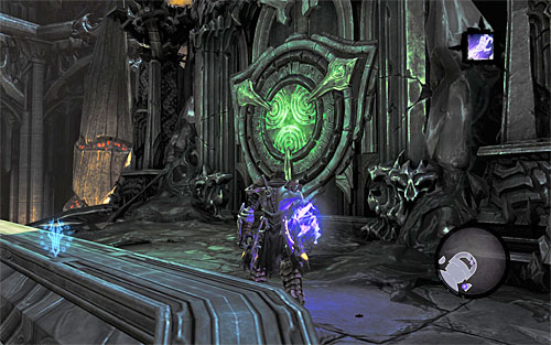 Follow the only available path - Find Samael - end - The Lord of the Black Stone - Darksiders II - Game Guide and Walkthrough