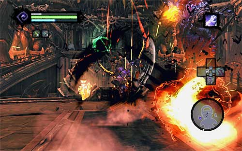 Keep hitting Samael until he runs out of health - Boss 19 - Samael - The Lord of the Black Stone - Darksiders II - Game Guide and Walkthrough