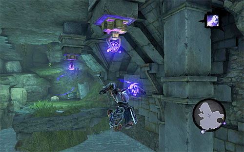 Make sure to have Death Grip activate and jump from edge mentioned above - Weeping Crag - Additional Locations - Darksiders II - Game Guide and Walkthrough