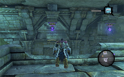 Start exploring the balcony to find a new chest - Weeping Crag - Additional Locations - Darksiders II - Game Guide and Walkthrough